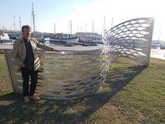 O Palhetas na Foz: Escultura Cardume inaugurada hoje junto ao passeio...