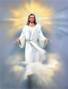 The savior Jesus is risen 😇😇😇 Images Du Christ, Pictures Of Jesus Christ, Jesus Christ Painting, Jesus Art, King Jesus, Jesus Is Lord, Image Jesus, Jesus Wallpaper, Jesus Is Coming