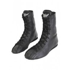 Geezers Tyson Leather Boot - A mid cut 'Tyson' boxing boot, with the look and feel of the classic boots. The soft leather and high laces offer excellent support for the ankle and foot. Boxing Boots, Martial Arts Clothing, Fight Wear, Mma Boxing, Gym Wear, Leather Ankle Boots, Soft Leather, High Top Sneakers, Footwear