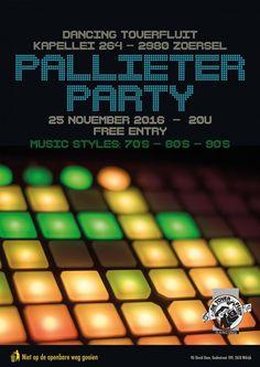 25 Nov 2016 - 25 Nov 2016  Pallieter Party