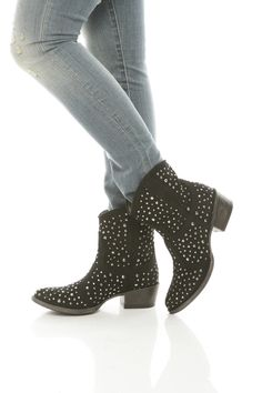 Sparkling Cow Girl Bootie