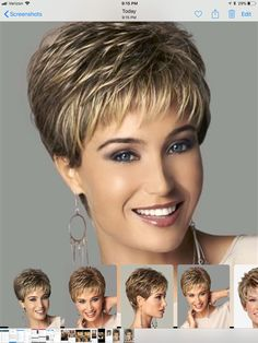 Nuevo corte - My list of womens hair styles Short Hair Over 60, Hair Cuts For Over 50, Hair Styles For Women Over 50, Short Grey Hair, Short Hair With Layers, Short Hair Cuts For Women, Pixie Haircut For Thick Hair, Short Hairstyles For Thick Hair, Short Hair Wigs