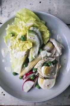 bibb salad with buttermilk pepper dressing recipes dishmaps bibb salad ...