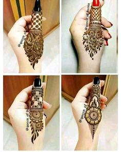 Simple Mehendi Designs for Eid Festival - - Looking for special mehndi designs for Eid Festival? Here's the collection of latest Eid Mehendi Designs to Celebrate Ramzan Festival in Easy Mehndi Designs, Latest Mehndi Designs, Finger Henna Designs, Henna Art Designs, Indian Mehndi Designs, Mehndi Designs For Girls, Mehndi Designs For Beginners, Mehndi Designs For Fingers, Wedding Mehndi Designs