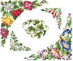 Sajou blooms cross stitch pattern. Instant by rolanddesigns, $4.00