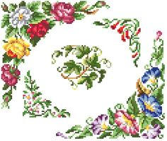 Sajou blooms cross stitch pattern. Instant by rolanddesigns, $4.00