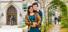 Zhe & Melody Fall Engagement Shoot | London, Ontario | Western University by Roman Hidalgo Photography