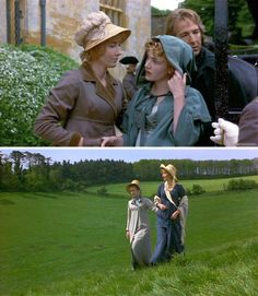 Sense and Sensibility (1995) Starring: Emma Thompson as Elinor Dashwood, Kate Winslet as Marianne Dashwood and Alan Rickman as Col. Christopher Brandon.