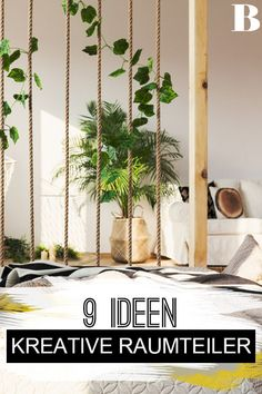 You will never want to part with that again: 9 creative room divider ideas Room divider ideas: 9 creative solutions. Whether apartment or huge living room: With these Residence Architecture, Solar Pool Cover, Diy Room Divider, Divider Ideas, Home Daycare, How To Make Beer, Farmhouse Lighting, Ikea Hack, My New Room