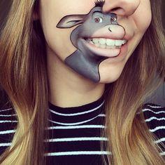 18 diseños de la chica que sigue haciendo arte con sus labios