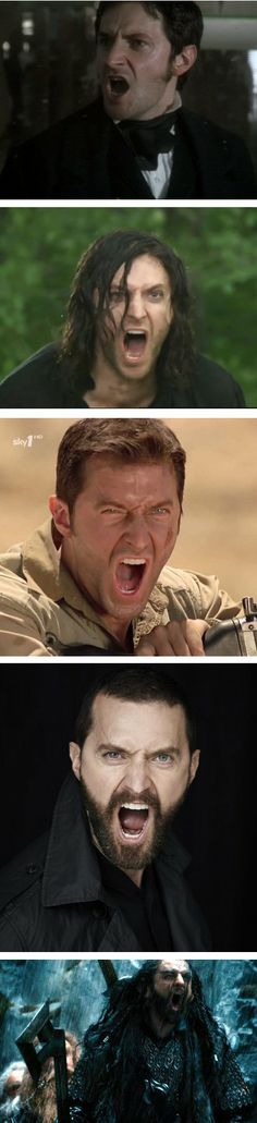 RA yelling. Lol it makes me laugh that somebody compiled pictures of him yelling.