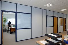 Relocatable partitioning small modules Office Cubicle Design, Home Office Design, Scaffolding Wood, Cubicle Walls, Cool Office Space, Oak Hardwood Flooring, San Diego Houses, Office Makeover, Cata