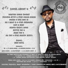 Finally Banky W Unveils Songs About U Album Playlist (Full List)