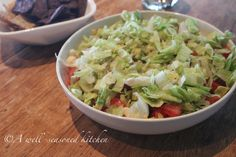 Taco Salad Dip - A Well-Seasoned Kitchen