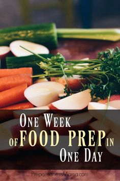 Cooking from scratch is the best way to save money in your family budget. If you can do one week of food prep in one day you will be ahead of the game.