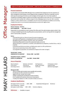 it project manager page1 it resume samples pinterest free