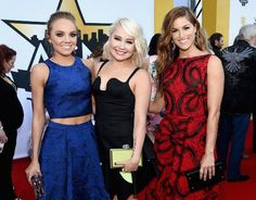 Danielle Bradbery, RaeLynn, and Cassadee Pope dazzle on the ACM Red Carpet 2015