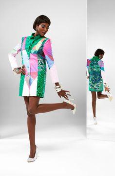 V-SHAPE   #vlisco #africanprint #dutchwax #waxhollandais #ankara #wax #fashion #fashionlook #model #africanprintfashion #dress #coat
