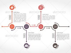 GraphicRiver Timeline Infographics Design Template 8079359
