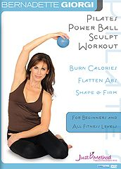 Readers Pick Their 6 Favorite Pilates DVDs of 2011: Finalist: Pilates Power Ball Sculpt - Bernadette Giorgi