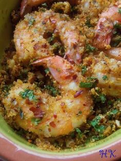 Scampi-Style Chile Garlic Shrimp Recipe!