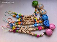 Chupeteros personalizados handmade