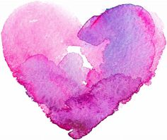 a watercolor graphic of a heart in pinks and purples Watercolor Background, Watercolor Art, Valentines Watercolor, Cool Art Drawings, Drawing Art, Hard To Love, Heart Art, Things That Bounce, Things To Sell