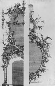 Картинки по запросу Etching, Mathias Lock, from Six Sconces published 1744
