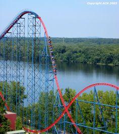 Superman The Ride Of Steel Nowed Bizarro  E2 80 A2 Six Flags New England