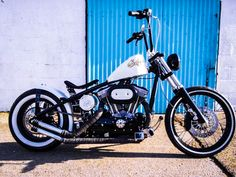 Harley-Davidson '#64' Rigid Sportster Bobber.