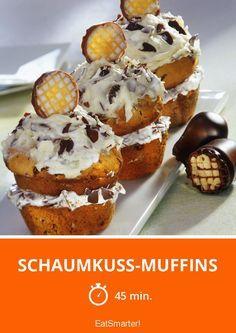 Schaumkuss-Muffins - da greift jeder gern zu!