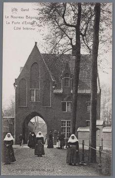 Sint-Amandsberg: Groot Begijnhof: toegangspoort, binnenzijde