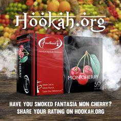 Fantasia Mo Cherry shisha flavor