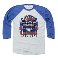Chicago World Champs BR Chicago C Officially Licensed MLBPA Baseball T-Shirt Unisex S-3XL