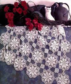 Star lace table cloth. More Patterns Like This!