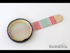 How to make a mini banjo - YouTube
