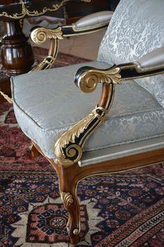 Aparato, decoração, móveis, design, interiores, estilo, beleza, sofisticação, excelência, sala, poltrona, detalhes