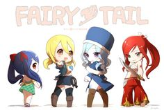 FT: Wendy, Lucy, Juvia and Erza