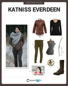 Fans of the hunger games will be jealous of your diy katniss katniss katniss more information more information katniss everdeen halloween costume idea solutioingenieria Image collections