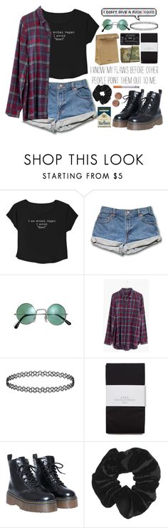 """I'd rather be hated for who I am, than loved for who I am not."" by indie-by-heart ❤ liked on Polyvore featuring Madewell, Zara, Jil Sander and Topshop"
