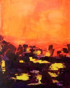 """""""Escuchando el silencio"""" - Fernando Gastron - Oleo sobre tela - 100 x 80 cm. - www.esencialismo.com"""