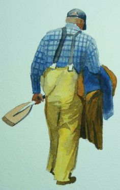 How to Paint Simple Figures in watercolour with Terry Harrison