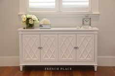 If you are looking for exquisite French provincial and Hamptons style cabinets, then you've come to the right place! Frenchplace.com.au sells elegant and classic pieces that change an ordinary room into a stylish space. With our French provincial and Hamptons style cabinets, you are getting more than a piece of functional furniture, you are also getting style and design.