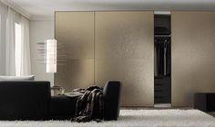 textured bronze glass bedroom sliding doors