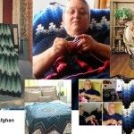 Mary's Crochet Afghan Patterns from Breaking Amish and Return to Amish