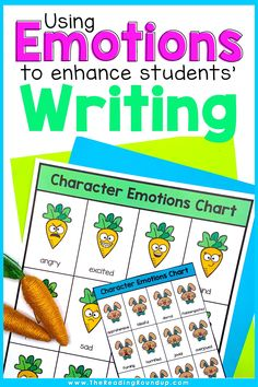 Character Emotions Charts don't just help improve students' reading comprehension, they can also enhance their writing. Students can increase their vocabulary using the emotions charts as they learn synonyms for commonly used emotion words. The printable anchor charts can be displayed in an elementary classroom or in students' writing notebooks. Find other easy and fun ideas for incorporating this tool into your Writing Workshop! #thereadingroundup #anchorcharts #easteractivitiesforkids Vocabulary Instruction, Vocabulary Activities, Writing Strategies, Writing Skills, Creative Writing Stories, Emotion Words, Small Group Reading, Easter Activities For Kids, Writing Anchor Charts