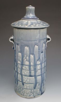 chris arensdorf  blue pasta jar