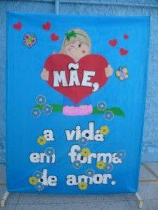 Mural dia das mães 1300
