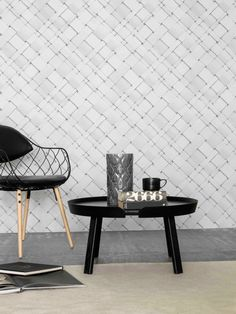 Front Design partnered with Eco Wallpaper on a collection ofwallpapers that look three-dimensional. The designs feature pencil drawings that reveal light and shadows on a plain white background giving the illusion of depth.