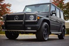 Matte black vinyl car wrap on a Mercedes G Wagon by Elite Fleet Vinyl. Located…